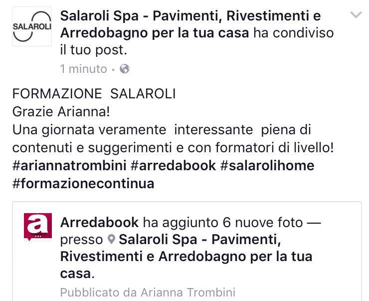 marketing arredamento - Salaroli Arredo Bagno